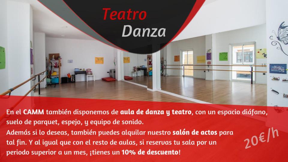 aula de danza y teatro