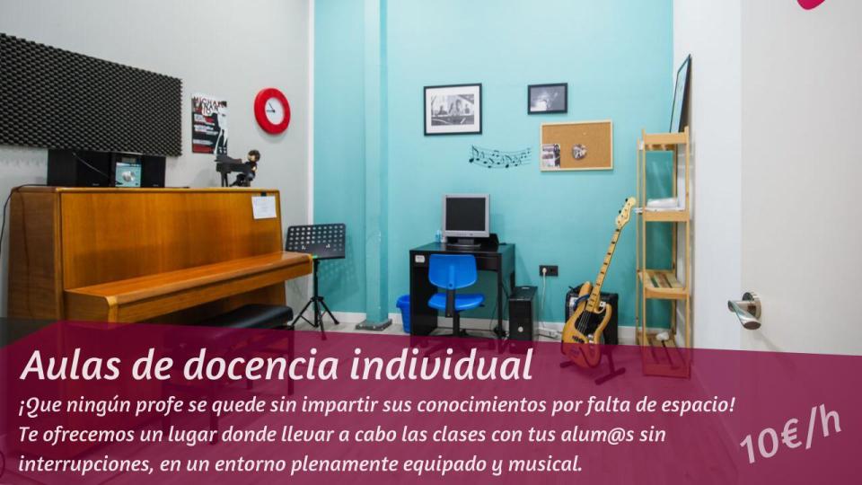 Aulas de docencia individual